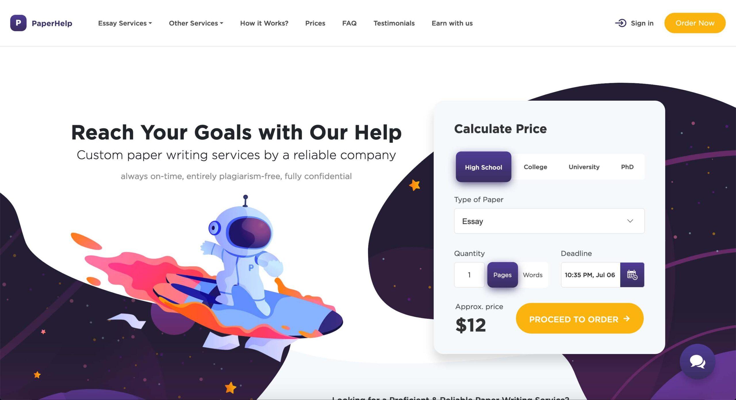 PaperHelp.org website